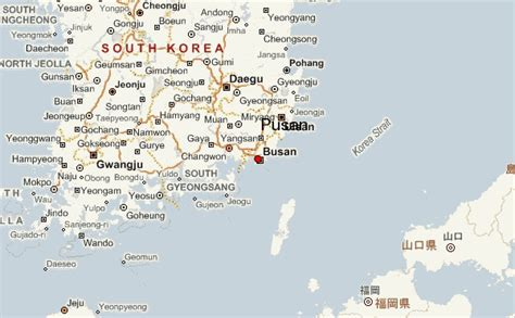 busan south korea map busan location guide