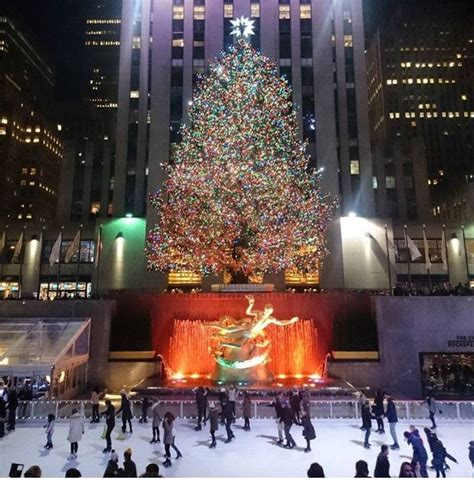 When Does New York Put Up Decorations by Rockefeller Center Tree Lighting 2017 Free