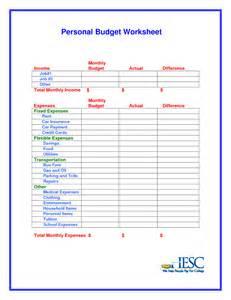Budget Worksheet Template Pics Photos Budget Worksheet Template