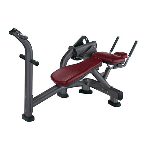 abs bench crunch signature series ab crunch bench life fitness strength