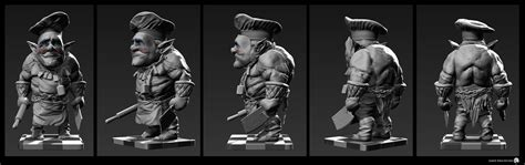 3d Drawing Website jared krichevsky krampus dark elves