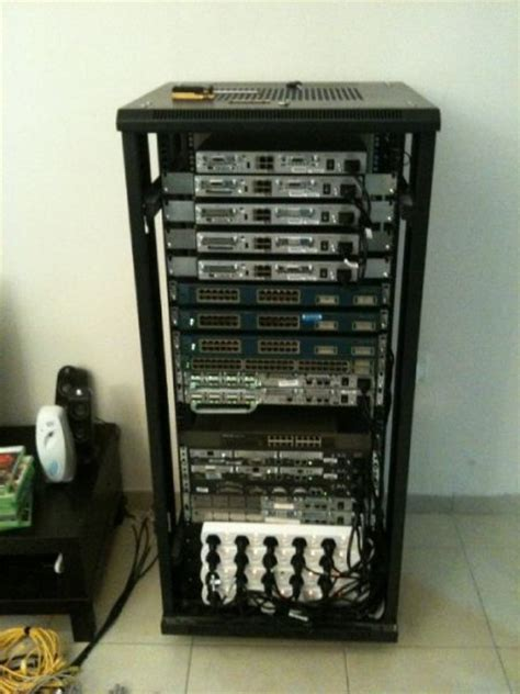 cisco ccna ccnp ccie lab router switches with rack