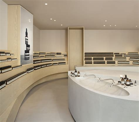 aesop shop  duesseldorf  architect
