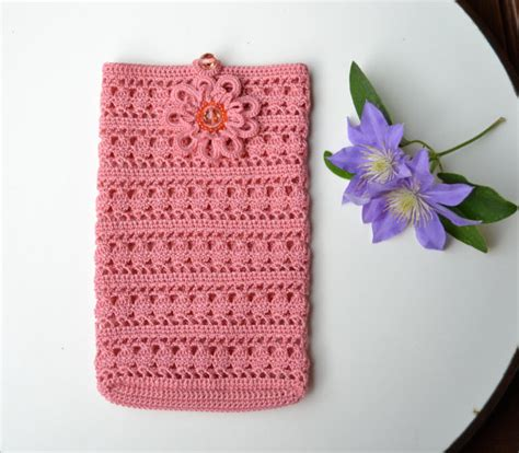 crochet pattern phone bag crochet smartphone cover crochet case phone accessories