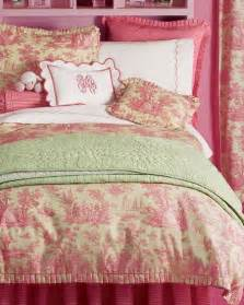 pink and green bedding pink and green toile bedding tween and