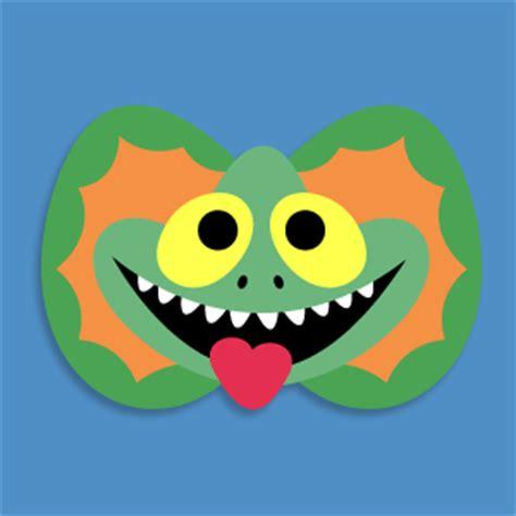 printable lizard mask template masketeers printable masks november 2013