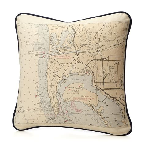 custom map pillow personalized map cushion uncommongoods