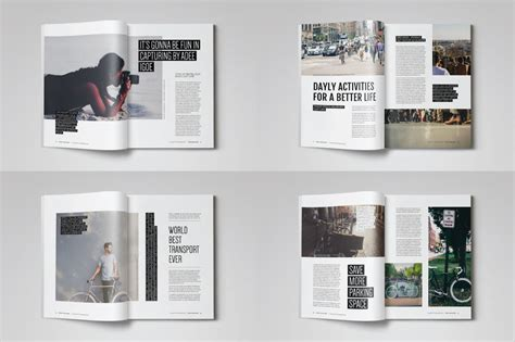 unique layout magazine 20 premium magazine templates for professionals