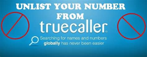 How To Delete Yourself From True Search How To Remove Your Number From Truecaller App
