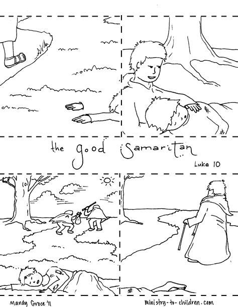 good samaritan coloring page printable the good samaritan coloring pages