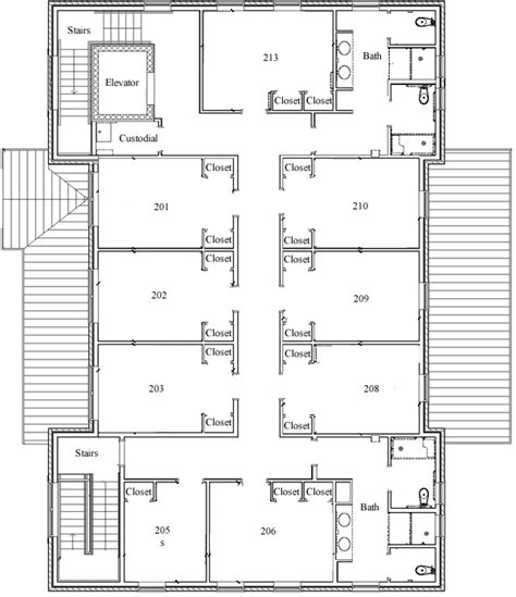 sorority house floor plans fraternity housing william mary