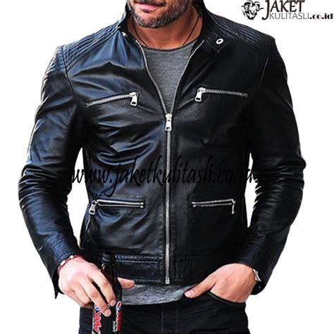 Jaket Kulit Pria Wanita 1 jaket kulit motor pria a652