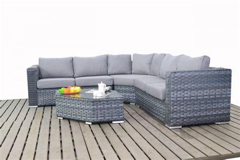 grey rattan corner sofa platinum grey rattan angle coner sofa set homegenies