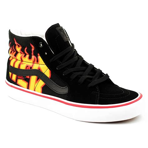 vans sk  pro thrasher black forty  skateboard shop