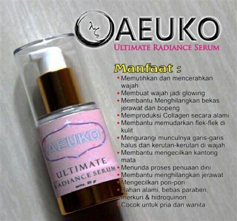 Serum Wajah Ultima serum aeuko ultimate radiance pemutih surabaya