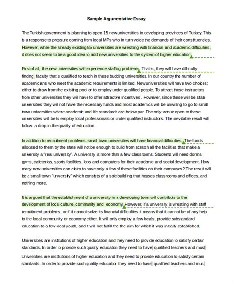 Exle Of Argument Essay by Rogerian Argument Essay Sle