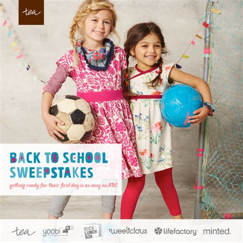 Back To School Sweepstakes 2015 - tea collection back to school sweepstakes over 1000 in grand prizes 3 winners