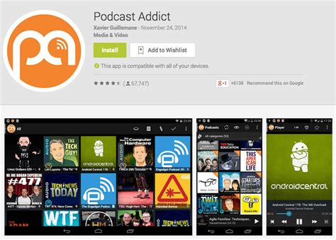 podcasts android 5 ứng dụng podcast tốt nhất cho android