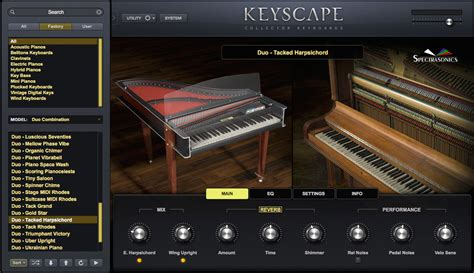 Trilian Spectrasonic Bass Instrument Vsti Vst Plugin Update kvr keyscape collector keyboards by spectrasonics