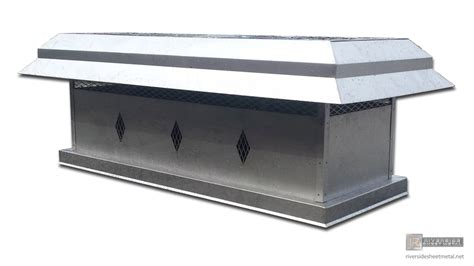 fireplace cap stainless steel chimney cap custom designed ch024