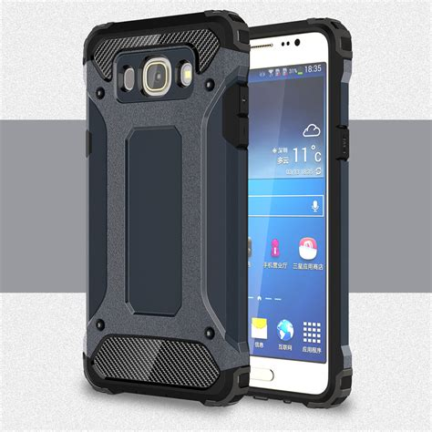 Softcase Samsung Galaxy J5 2016 J510 Anti for samsung galaxy j5 2016 j510 j510f slim armor anti shock silicone hybrid pc phone