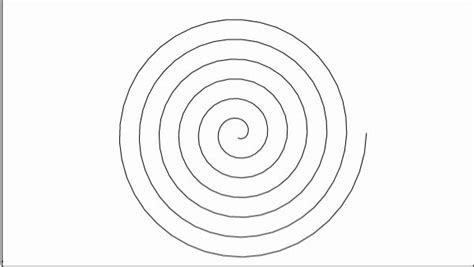 spiral template calligraphy and bookmaking