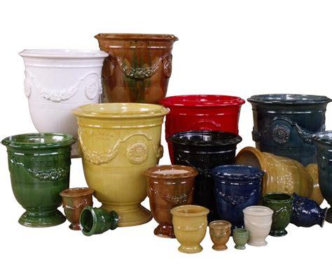 vase d anduze mini couleur verte diam 232 tre 28cm hauteur 32cm