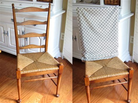 Diy No Sew Dining Room Chair Covers No Sew Pillow Chair Covers