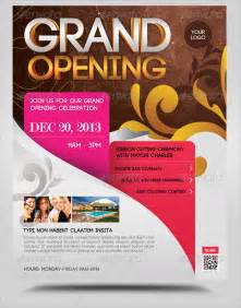 flyer announcement template grand opening flyer template 17 document in