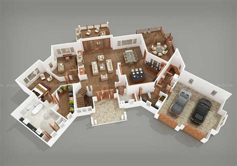 Vacation Rental House Plans floor plan 3d 2d floor plan design services in india