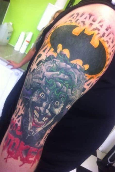 joker inspired tattoo joker tattoos for men ideas and inspiration for guys