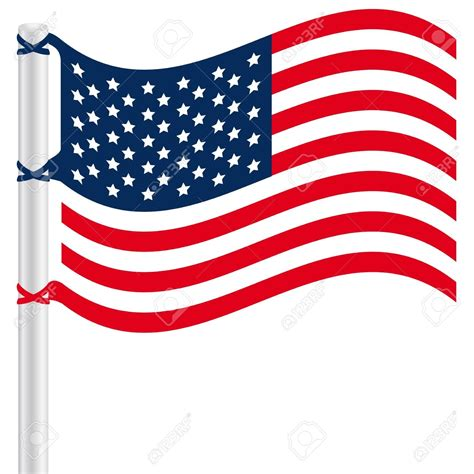 american flag clipart american flag clipart wavy pencil and in color american