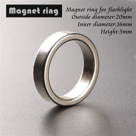 Obeng Bening Magnet 6 Diameter 6 Mm aliexpress buy flashlight magnet magnetic ring