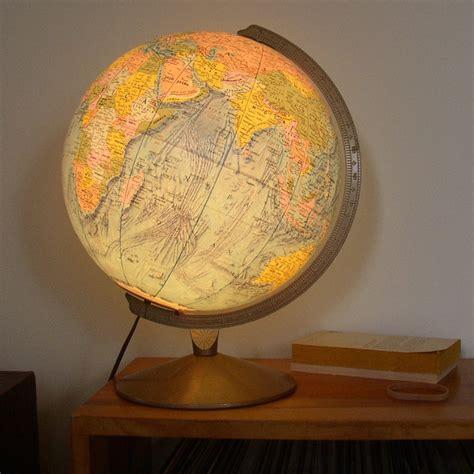 beautiful light up globe replogle world vision