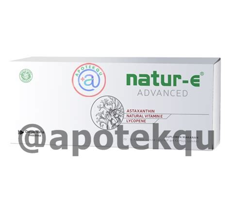 Natur E Advanced Isi 16 Kapsul natur e advanced 16 s apotekqu apotekqu
