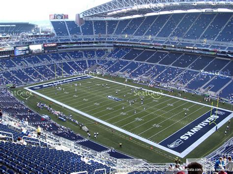 what is section 302 centurylink field section 305 seat views seatgeek