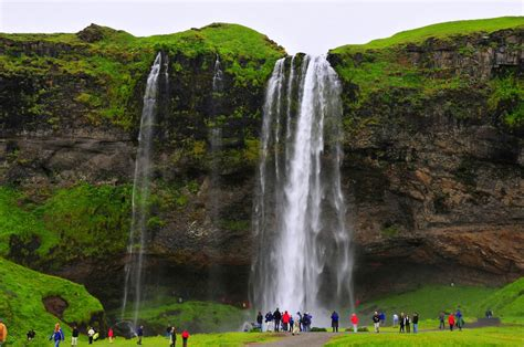 famous falls panoramio photo of seljalandsfoss waterfall is one of