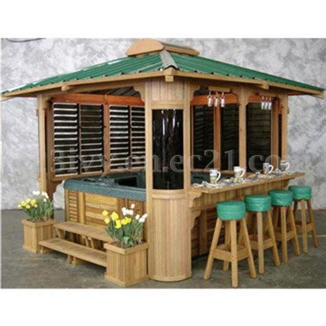 Gazebo With Built In Bar With Gazebo Or Wooden Arbor Id 1856555 Product