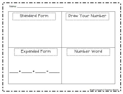sdaie lesson plan template place value worksheets expanded form and what s the on