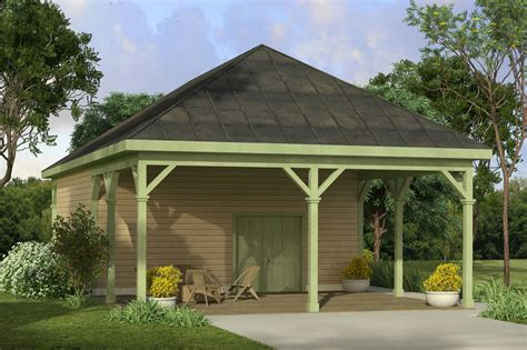 House Plans With Carports by Country House Plans Shop W Carport 20 172 Associated