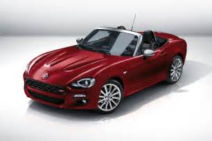 Spider 124 Fiat Fiat 124 Spider Revealed At 2015 La Show Fiat S Mx 5