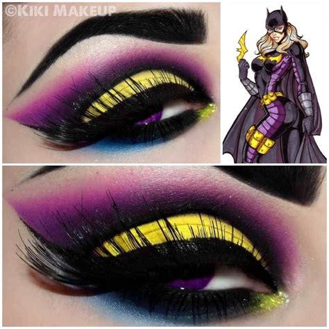 halloween hairstyles for batgirl batgirl inspired makeup gorgeous batgirl inspired make