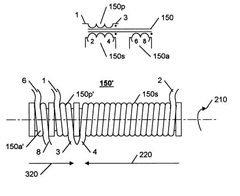 parasitic capacitor patent us6239557 transformer winding technique with reduced parasitic capacitance effects