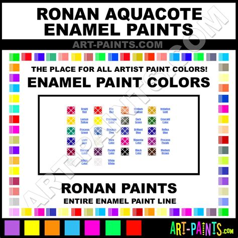 ronan aquacote enamel paint colors ronan aquacote paint colors aquacote color aquacote