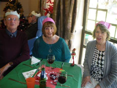 christmas nursing home dinner st marys nursing home