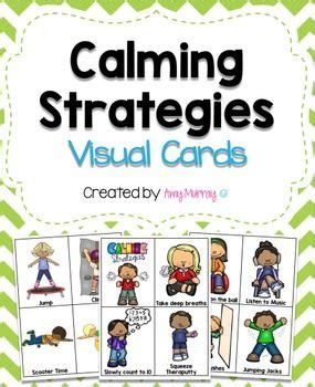 colors that calm you down calming strategies visual cards colors student and dr who