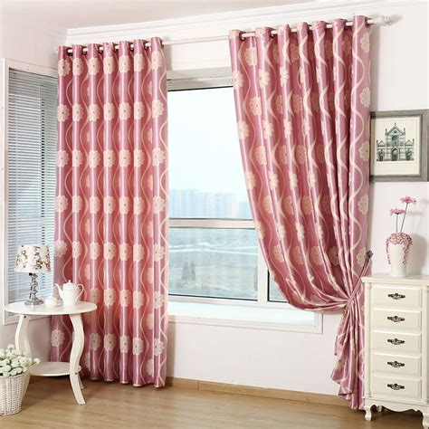 floral bedroom curtains lovely floral bedroom jacquard pink thermal curtains