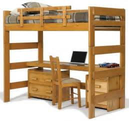 Bunk Bed And Desk 25 Awesome Bunk Beds With Desks For