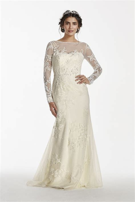 The perfect vintage inspired wedding dress   Long Sleeved