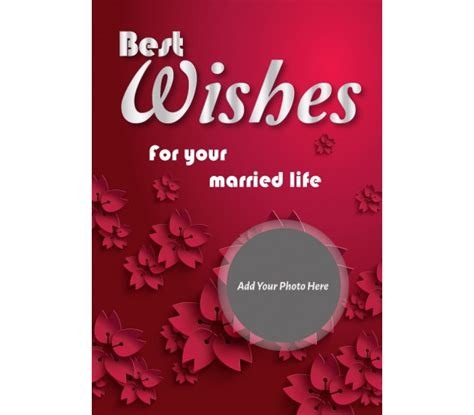 best wishes for your married life